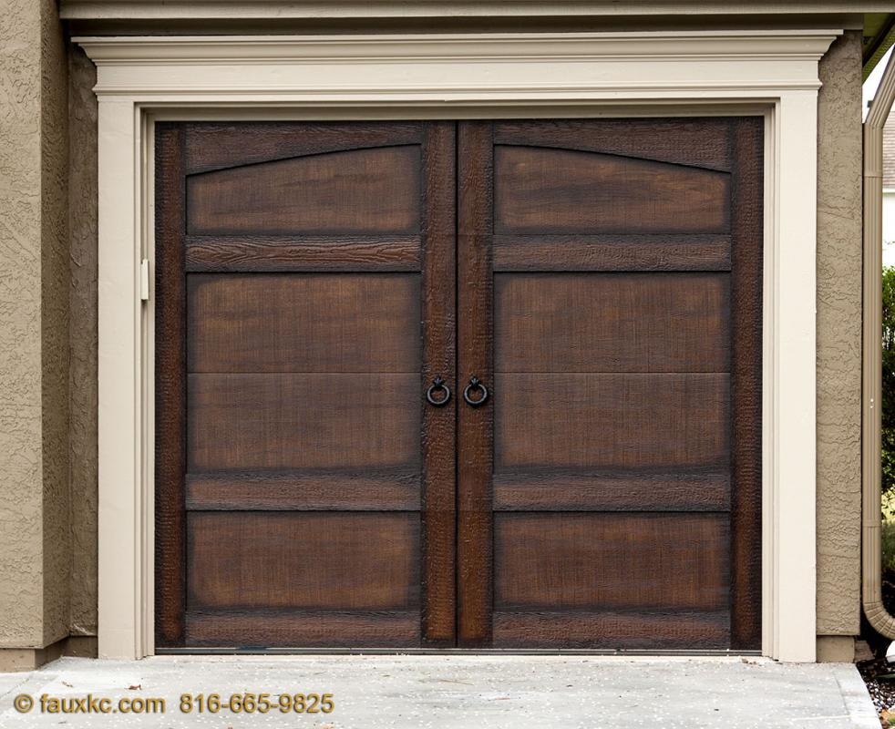 Charmant Wood Faux Finish Metal Garage Doors 27 · 15412 Iron Horse Cir, Overland  Park, KS 66224