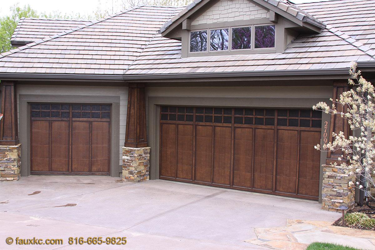 Wood Faux Finish Metal Garage Doors 66 · 27090 W 102nd St, Olathe, KS 66061