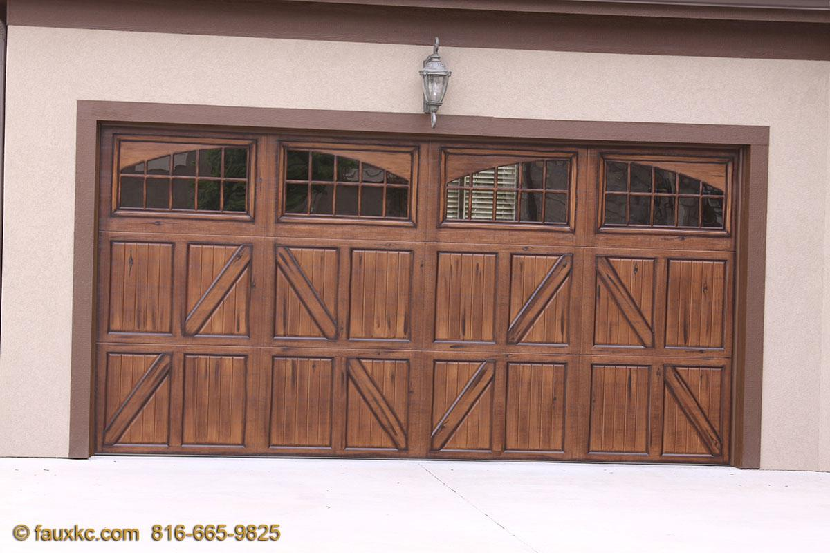 How to stain a door for How to stain a garage door