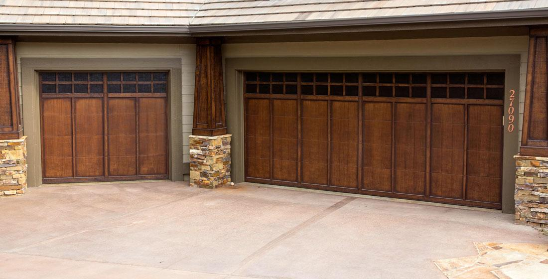 Metal Garage Doors With A 10 Year Finish