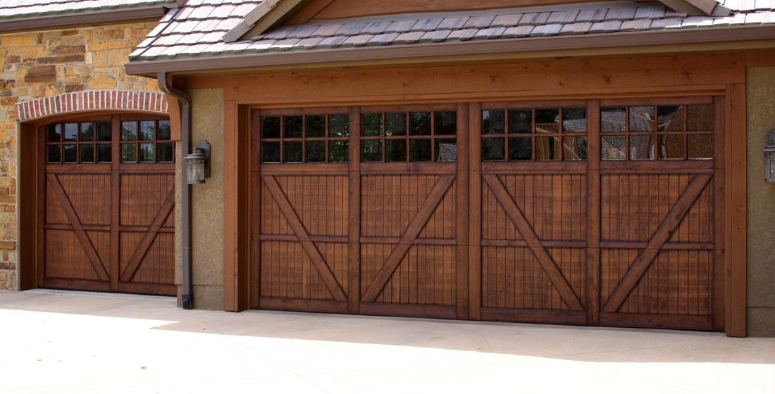 Faux wood garage doors fauxkc for How to paint faux wood garage doors